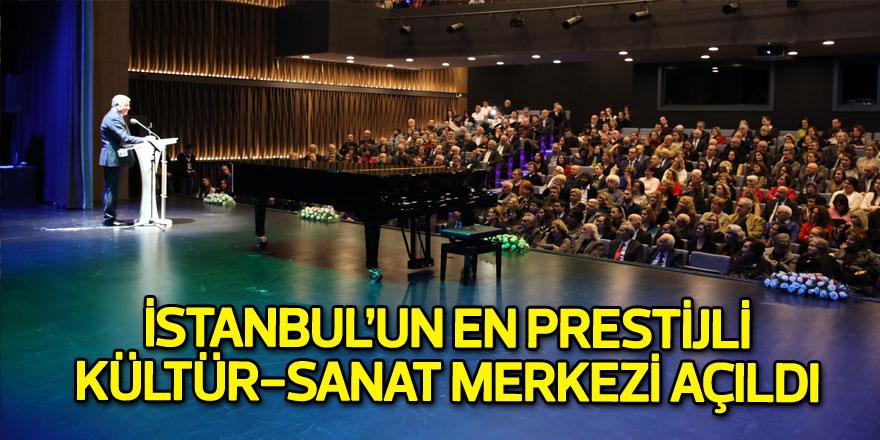 İstanbul'un en prestijli kültür-sanat merkezi Sarıyer'de açıldı