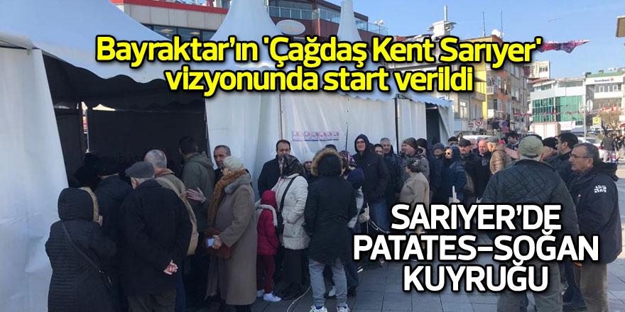 Bayraktar'ın 'Çağdaş Kent Sarıyer' vizyonunda start verildi