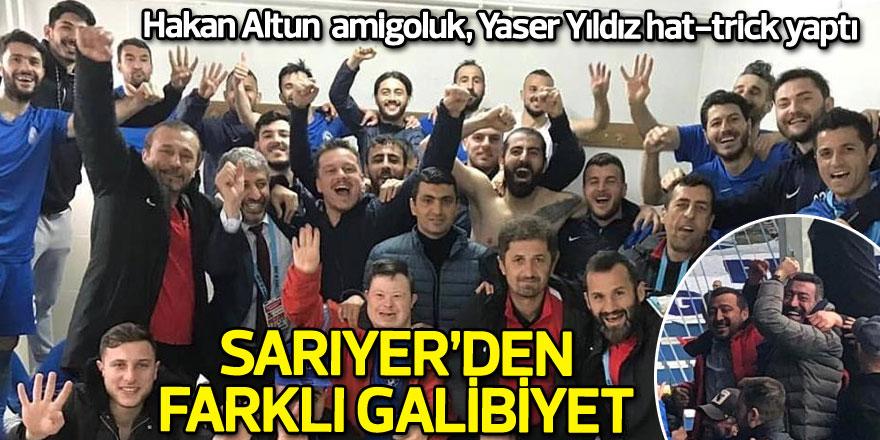 Hakan Altun amigoluk, Yaser Yıldız hat-trick yaptı