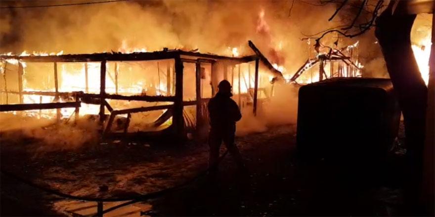 Rumeli Kavağı Midyeciler Barınağı'nda korku dolu anlar - VİDEO