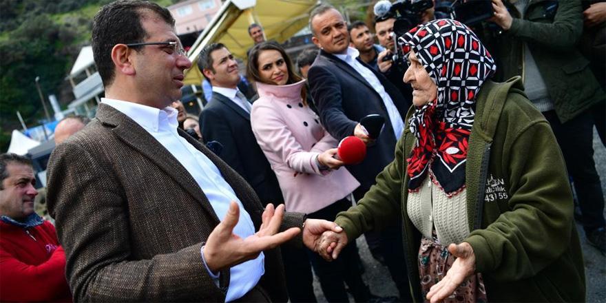 İmamoğlu Garipçe'de vatandaşlarla buluştu