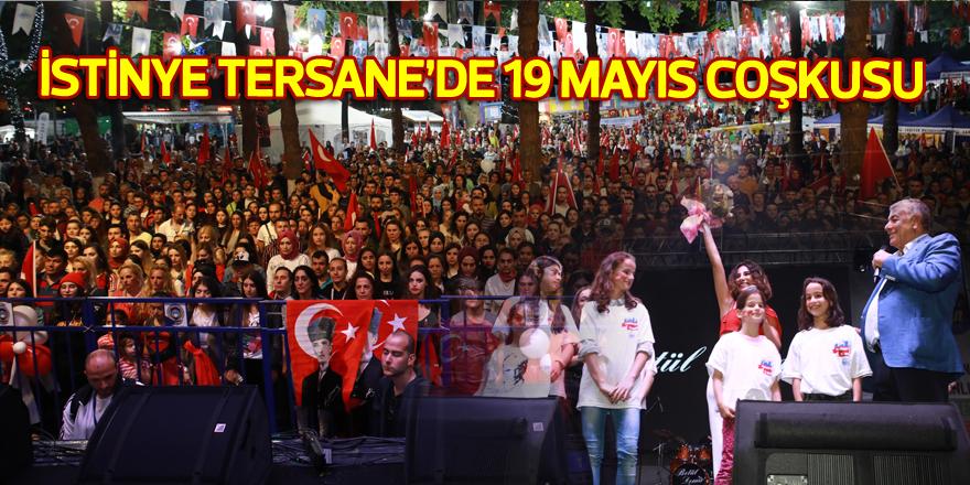 İstinye Tersane'de 19 Mayıs coşkusu