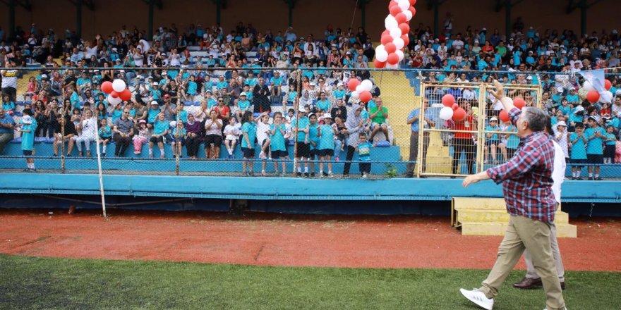 Yaz Spor Okulları üç bin 600 çocukla yaza merhaba dedi