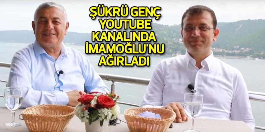 Şükrü Genç Youtube kanalında İmamoğlu'nu ağırladı