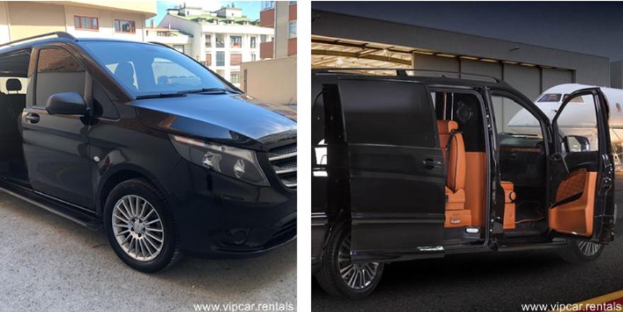 İstanbul'un Vito Kiralama Firması Vipcar Rentals Araçlarını Yeniledi