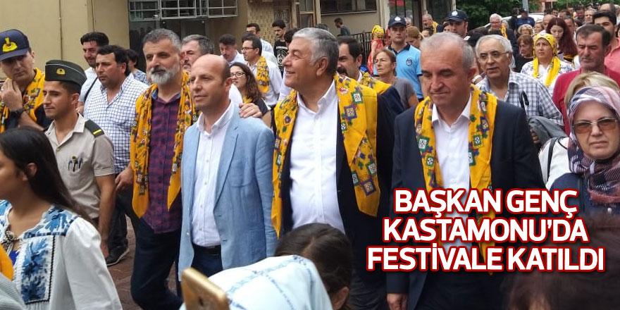 Başkan Genç Kastamonu'da festivale katıldı