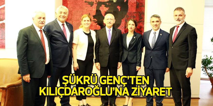 Şükrü Genç'ten Kılıçdaroğlu'na ziyaret