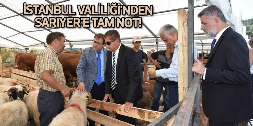 İstanbul Valiliği'nden Sarıyer'e tam not!