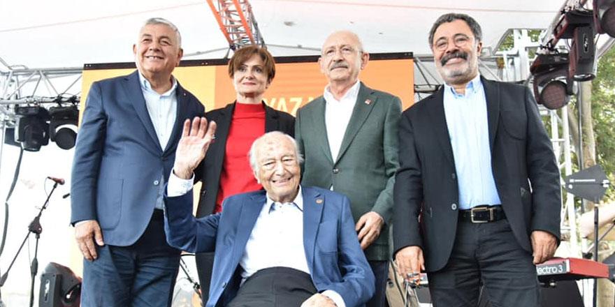 Beyaz Martı Edebiyat Onur Ödülü'nü Kılıçdaroğlu verdi