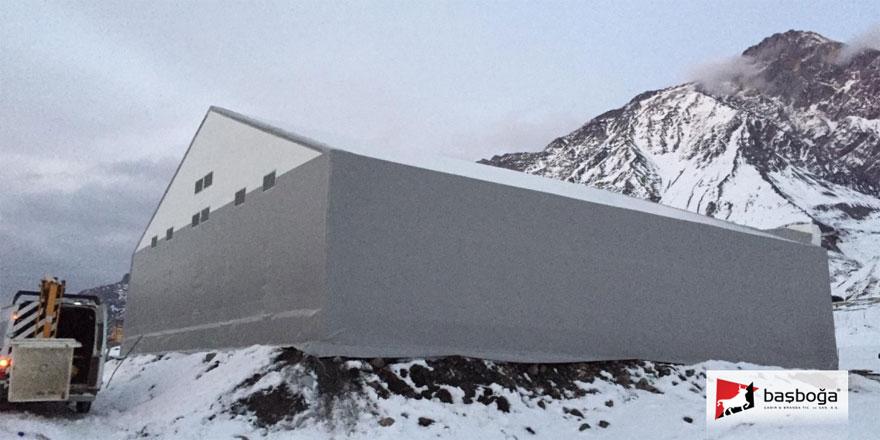 Başboğa Gürcistan Projesi ve Çelik Konstrüksiyonlu Çadırlar