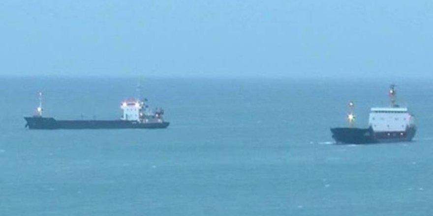 Kilyos'ta balıkçı teknesi ile tanker çarpıştı