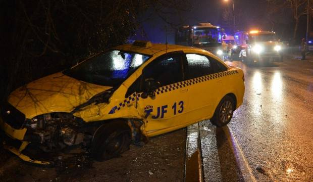 Sarıyer'de trafik kazası: 4 yaralı