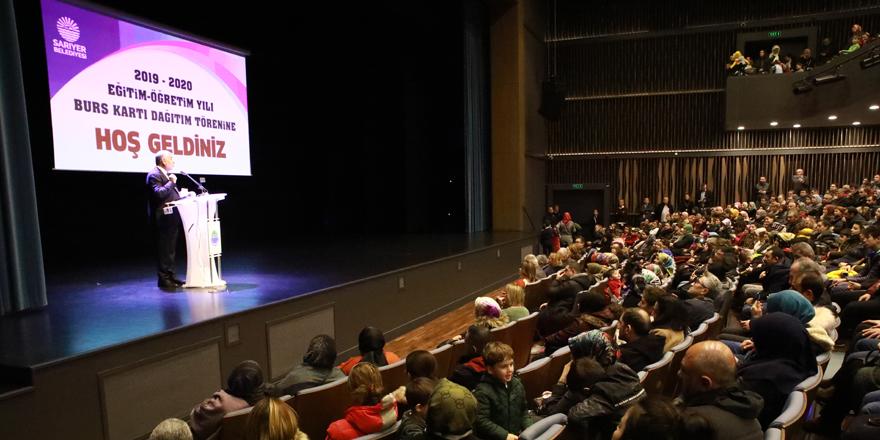 Sarıyer Belediyesi'nden 6 bin 490 öğrenciye burs