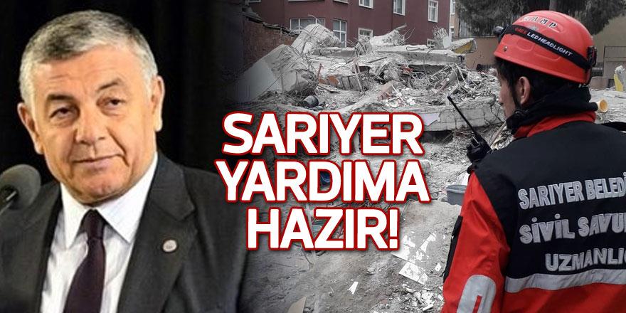 SARIYER YARDIMA HAZIR!