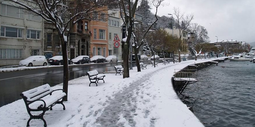 İstanbul'da 4 gün kar yağışı bekleniyor