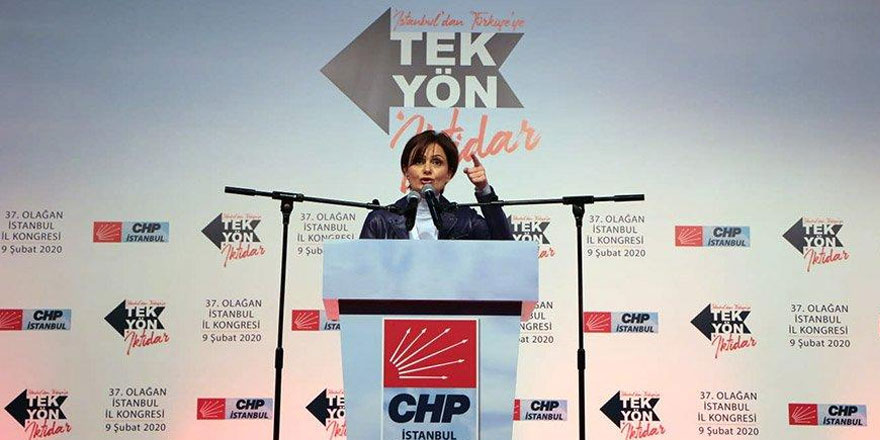 CHP İl Kongresi'ne Sarıyer damgası