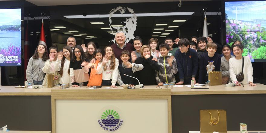 Öğrenciler 'yerel yönetimi' Başkan Genç'ten dinledi