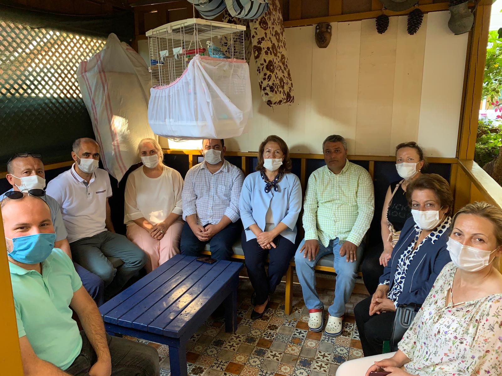 CHP'den Rıfat Elmas'a taziye ziyareti