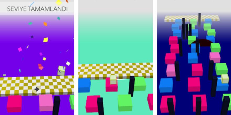 Hareket eden küp oyunu: Jump Cubes