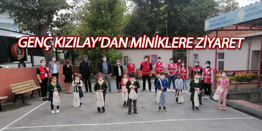 Genç Kızılay'dan miniklere ziyaret