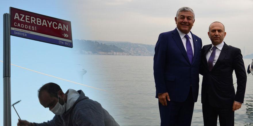 Sarıyer'den Azerbaycan'a dostluk eli