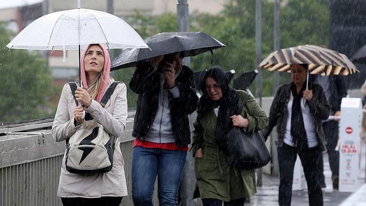 İstanbul için dolu ve sel uyarısı!