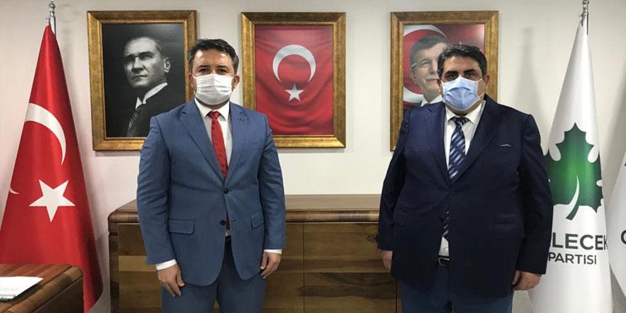 Erhan Vergili, Gelecek Partisi Sarıyer İlçe Başkanı oldu