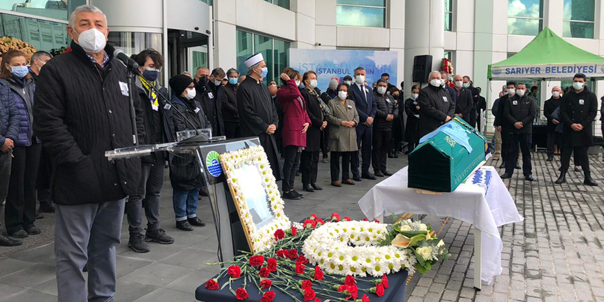 Mahmut Alikaya gözyaşlarıyla son yolculuğuna uğurlandı