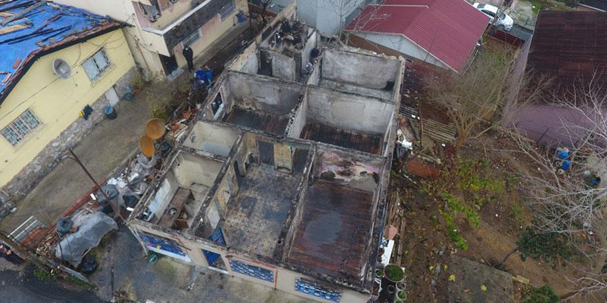 Sarıyer Belediyesi'nden evleri yanan vatandaşlara yardım eli