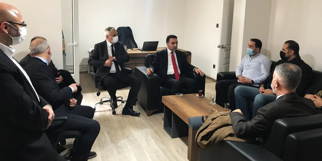 AK Parti'den Sarıyer Manşet'e ziyaret