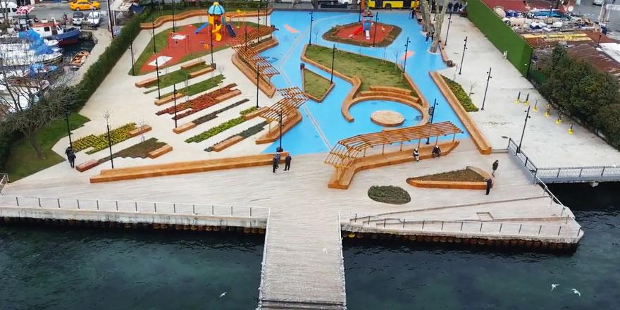 İBB, Rumeli Kavağı'na yeni bir park kazandırdı