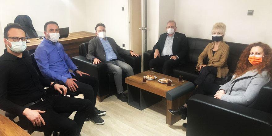 İYİ Parti'den Sarıyer Manşet'e ziyaret