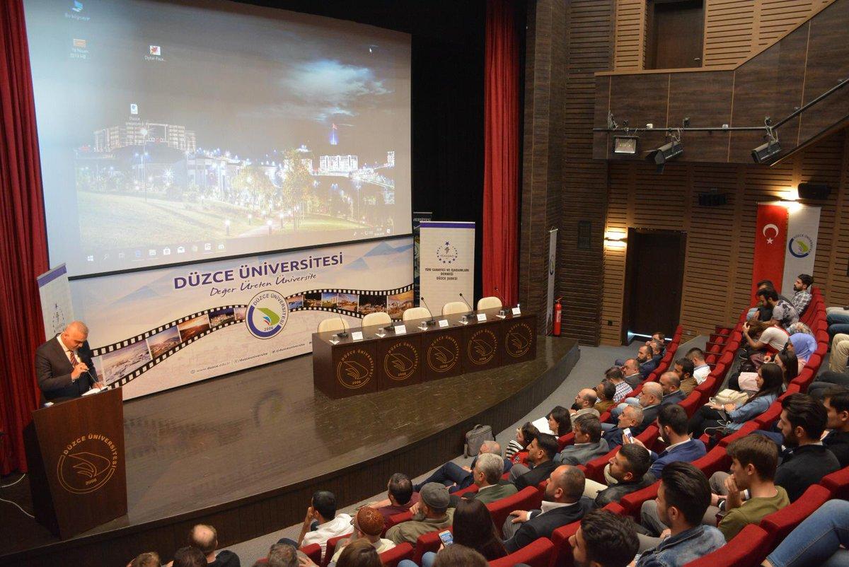 """Düzce Üniversitesi'nde Dijital Pazarlama Başlıklı"""" Söyleşi"""