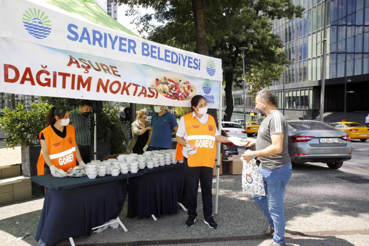 AŞURELER SARIYER BELEDİYESİ'NDEN