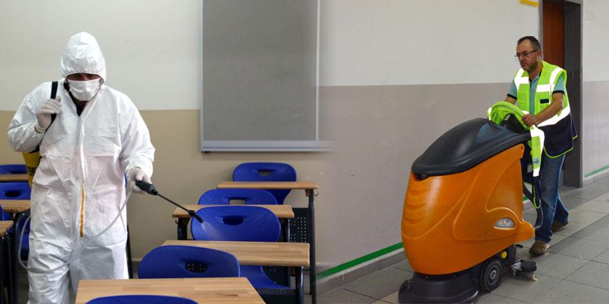 Sarıyer Belediyesi'nden okullarda temizlik seferberliği