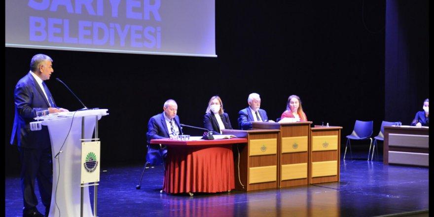 Sarıyer'in 2022 bütçesi meclisten geçti