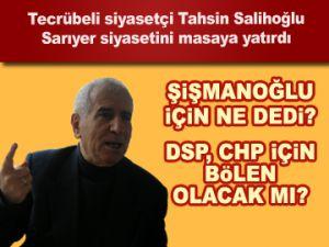 Salihoğlu Sarıyer'i yorumladı