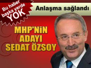 Sedat Özsoy MHP'den ADAY