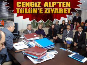 Dr.Cengiz Alp'ten Tülün'e ziyaret