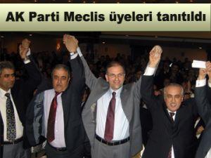 AK Parti Meclis üyeleri tanıtıldı