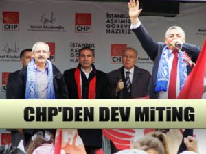CHP'den dev miting