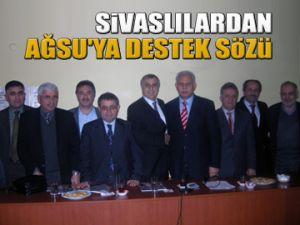Sivaslılardan Ağsu'ya destek sözü