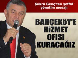 Bahçeköy'e hizmet ofisi kurulacak