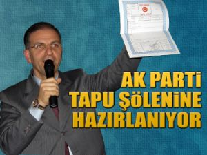 AK Parti şölene hazırlanıyor