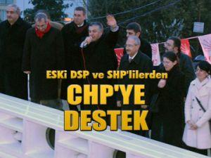 Eski DSP'lilerden CHP'ye destek