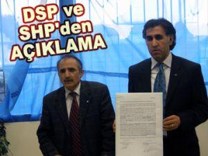 DSP ve SHP'den açıklama