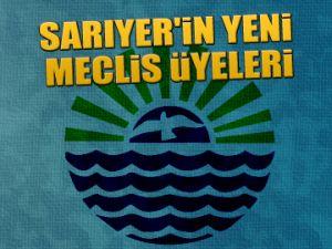 Sarıyer'in yeni meclis üyeleri