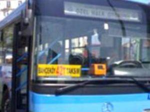 Bahçeköy otobüsü'nun freni patladı