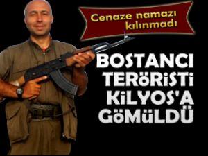 Terörist Kilyos'a gömüldü