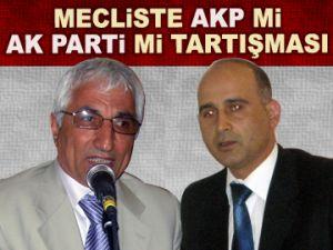 AKP mi, AK Parti'mi tartışması